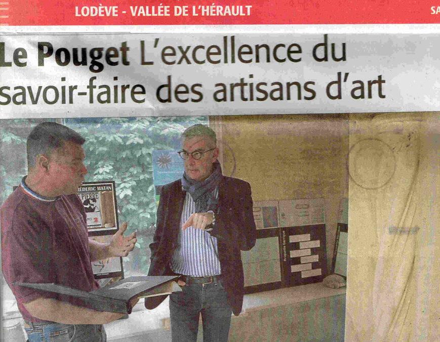 Lettre de remerciement de Mr Jean-François Eliaou Député de l'Hérault.