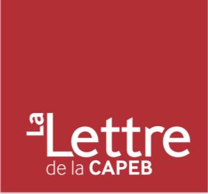 La lettre de la CAPEB fait l'éloge de Frédéric Matan et du résultat au concours Lépine.