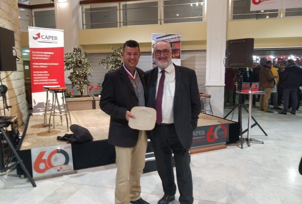 Rencontre avec le Président national de la CAPEB suite au Concours Lépine 2019