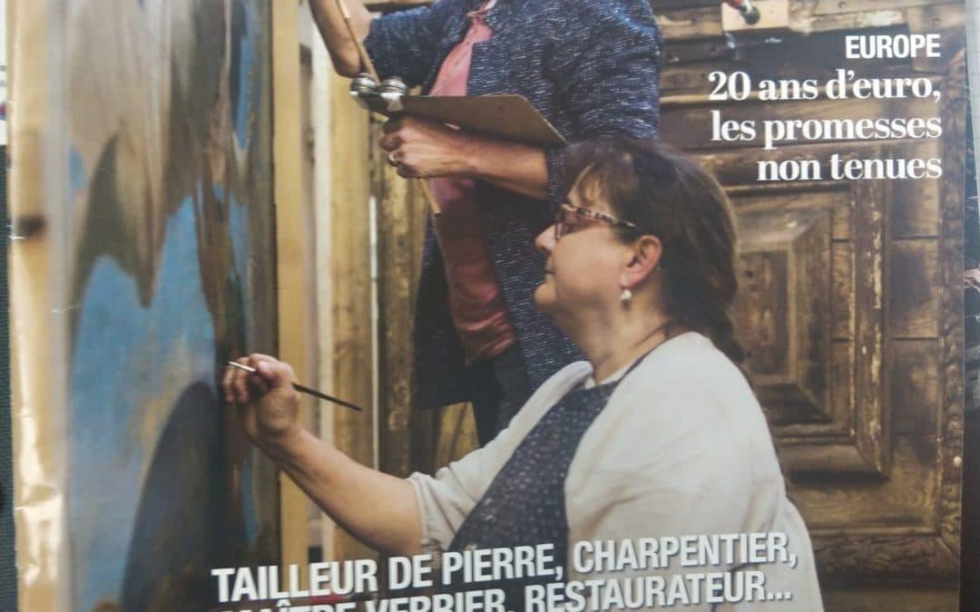 Interview dans l'Humanité Dimanche, le magazine des alternatives