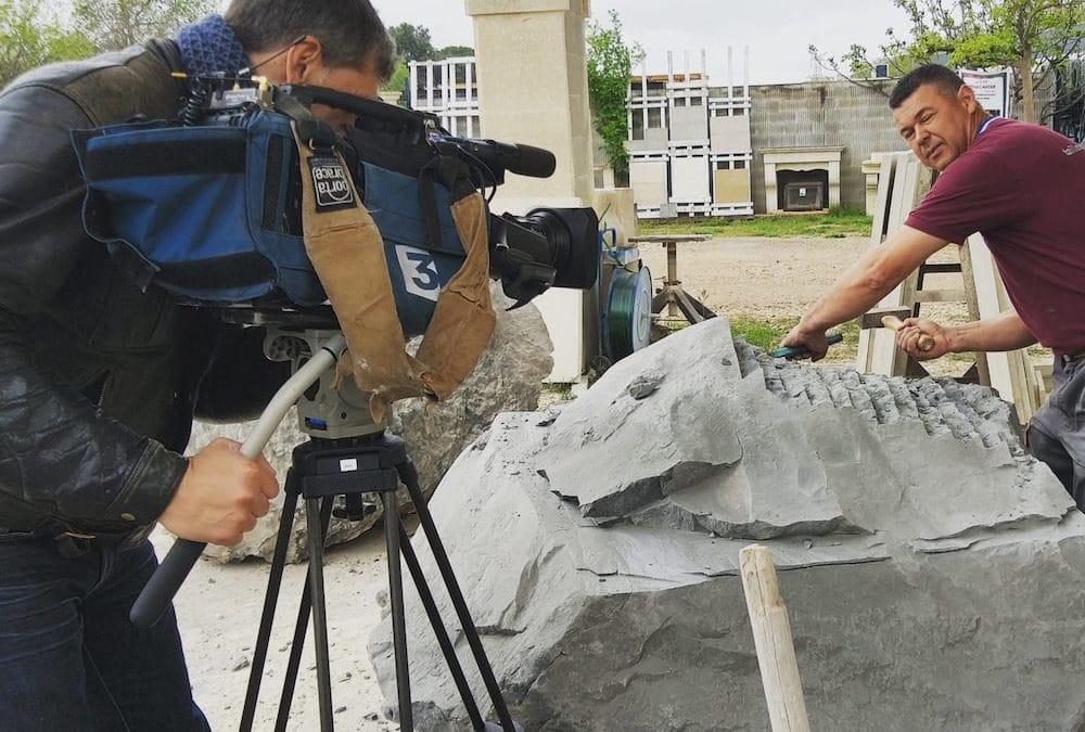 Reportage et interview sur France 3 suite au dramatique incendie de la cathédrale Notre-Dame de Paris