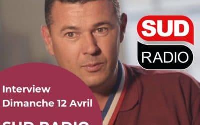 Interview de Frédéric Matan le 12 Avril 2020 sur Sud Radio