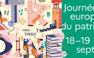 Dimanche 19 septembre 2021 : démonstrations et initiation à la taille de pierre de Frédéric Matan, Meilleur Ouvrier de France